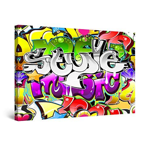 Startonight Cuadro sobre Lienzo Graffiti II