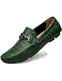 Merryhe Brillante Barco Hombre Zapatos De Slipon Para Cuero qFaZAnq