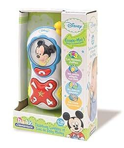 Clementoni - 62370-Téléphone lumière et sons de Mickey - parlant-PREMIER AGE