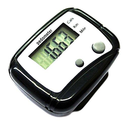 LCD Multifunktion Schrittzähler Pedometer Kalorien Zähler Step Counter - Multifunktions-schrittzähler