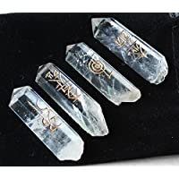 Reiki Healing Energy Charged Set of 4 Small Clear Quartz Crystal Single Terminated Rocks (approx 3-4 cm each)... preisvergleich bei billige-tabletten.eu