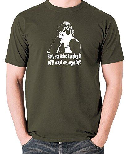Revolution Ape Herren T-Shirt Grün Grün Gr. xxl, Grün - Olive -