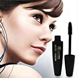 Wimperntusche clifcragrocl, Mode 3D Faserlashes Lange geschwungene Wimpern Eye Wimperntusche Waterproof Makeup