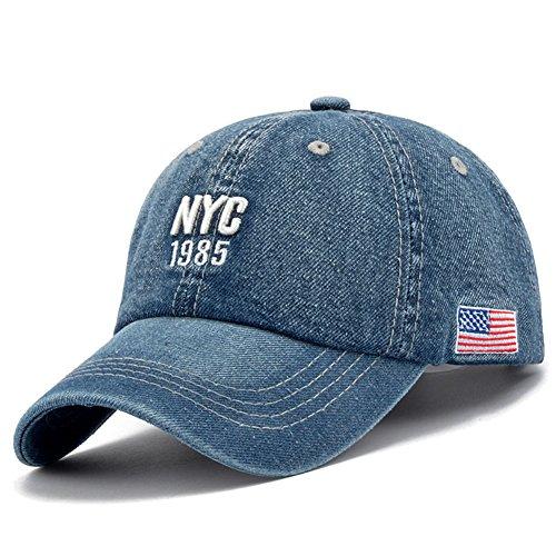 Générique NYC 1985 Tri Illu Unisexe Hommes Femmes Snapback réglable Hip-hop Casquette de Baseball