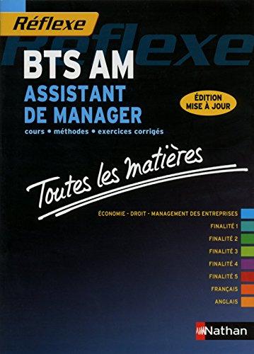 Toutes les matières BTS Assistant de manager par N. AUZEBY