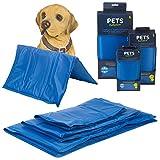 Dog Cat Pet Self Cooling Gel Mat Heat Summer Hot Weather Bed Pad Kitten Puppy