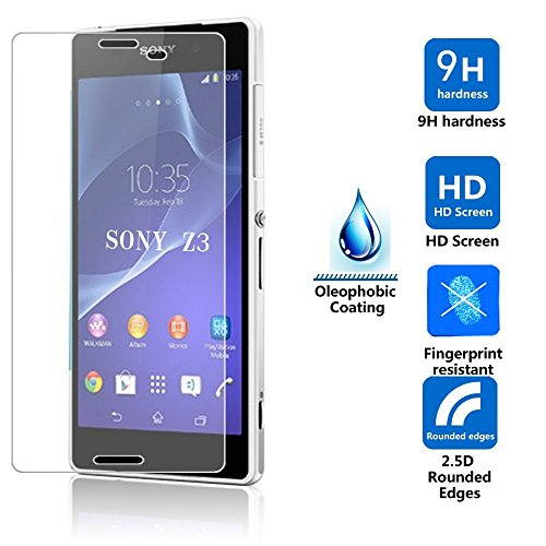 Generic Brain Freezer Tempered Glass Screen Protector for Sony Xperia Z3