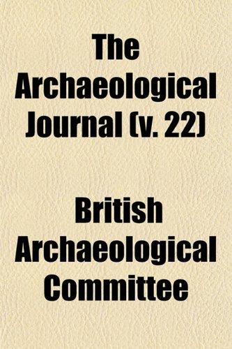 The Archaeological Journal (v. 22)