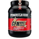 100% CFM WHEY ISOLAT Pulver - Bestseller Molkenprotein-Isolat - Whey Protein mit 93% (97% i.Tr.) Proteingehalt von höchster Qualitätsstufe durch cross flow microfiltrated MADE IN GERMANY (Natur ohne Süßungsmittel, 1000 g Dose)