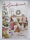 Unbekannt Wonderful Bunte zu Lovely Großeltern Grußkarte Weihnachten