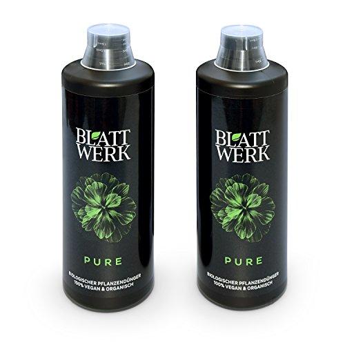 Blattwerk Pure Bio Düngemittel Pflanzendünger, 100% Vegan, 2 L
