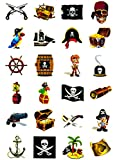 Piraten Tattoo Set 24 Kindertattoos - verschiedene Piraten Motive Kinder Spielen Bild