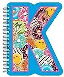 iscream / Letter K Shaped Initial Notebo...