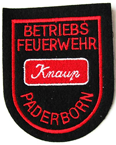 Werkfeuerwehr - Betriebsfeuerwehr - Knaup Paderborn - Ärmelabzeichen - Abzeichen - Aufnäher - Patch - Motiv 1