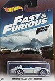 Hot Wheels   Fast   Furious   Corvette Grand Sport Roadster Silver