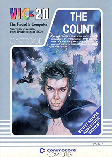 The Count - Commodore VIC 20 Cartridge