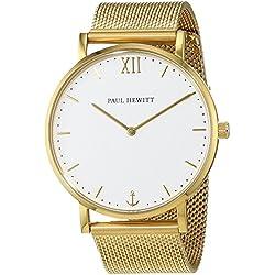 Paul Hewitt-Unisex Watch-PH-SA-G-St-W-4S