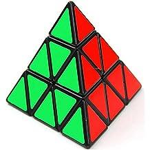 Cubo de rubik profesional piramidal 3x3.