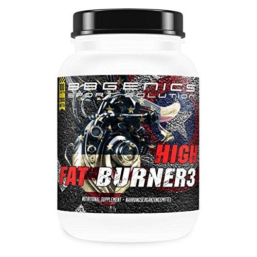 BBGenics High Fat Burner III, dieta / Definizione di alimentazione, US importare bruciatore di grasso senza caffeina, la perdita di peso durante il sonno, 100 compresse