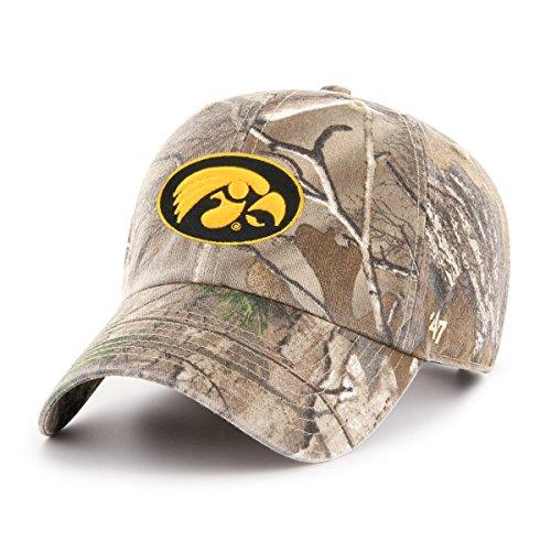 NCAA '47reinigen bis Realtree Verstellbarer Hat, One Size, unisex - erwachsene, NCAA '47 Clean Up Realtree Adjustable Hat, One Size, Realtree Camo, Einheitsgröße (Realtree Camo Premium)