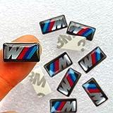 BMW Lot de 10 autocollants avec emblème M