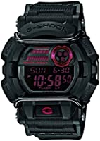 - GD 400-1ER Casio G-Shock Men's Watch Digital Quartz Black Resin Strap Black Dial