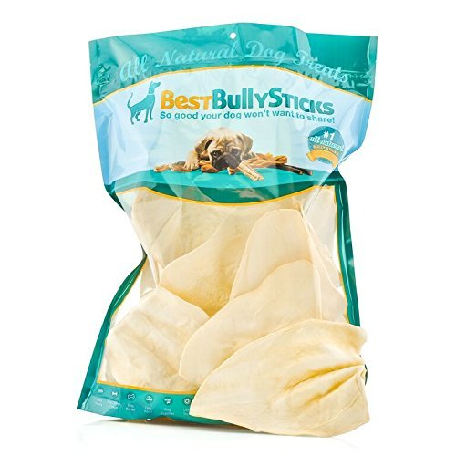 Best Jumbo Cow Ear Dog Treats by Bully Sticks (10 pack) by Bully Sticks -