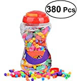 380 Pieces Snap Pop Beads Girl's Toy DIY Jewelry Kit Fashion Fun For Necklace Ring Bracelet Art Crafts Gift Toys For Kids Girls