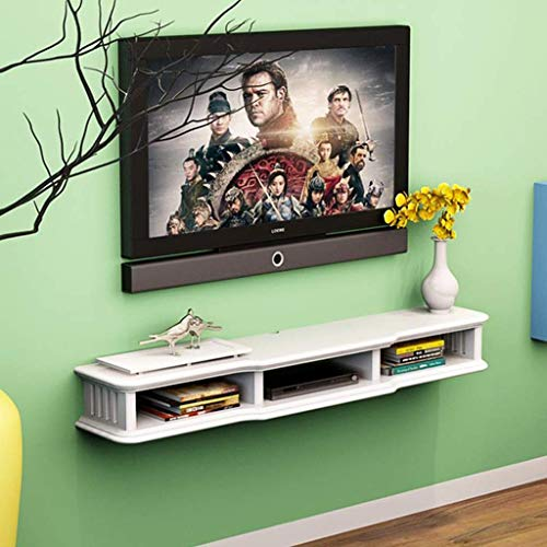 MTX Ltd Wand- / Deckenhalterungen für Tv Wandmontierter Tv-Schrank Wandkonsole für Tv-Konsole Schwimmende Innenhaushaltsgeräte Langlebig, 1#, 120CM