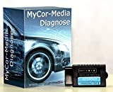 MyCor-Media Bluetooth Interface für Ford CAN-BUS OBD2 Diagnose + Apps/Software