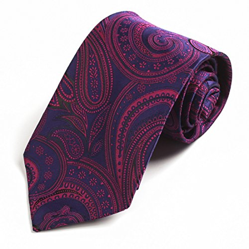 EGD1B.01 Serie modello microfibra dello smoking del vestito della maglia cravatta al collo Set Mens di Epoint EGD1B01D-Viola Blu