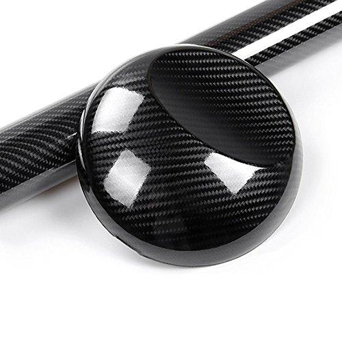 5D-Klebefolie, Carbonfaser-Optik, hochglänzendes Vinyl, mit 4D-Textur, ohne Luftblasen, zur Fahrzeug-Dekoration, 30 x 152cm -