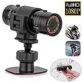 Full HD 1080 P Mini Sport DV Camera Bicicletta Casco Azione DVR Videocamera HD Sport Telecamera 1080P 120 Lente Grandangolare DVR Azione Camera da Casco, Videoregistratore webcam per esterno