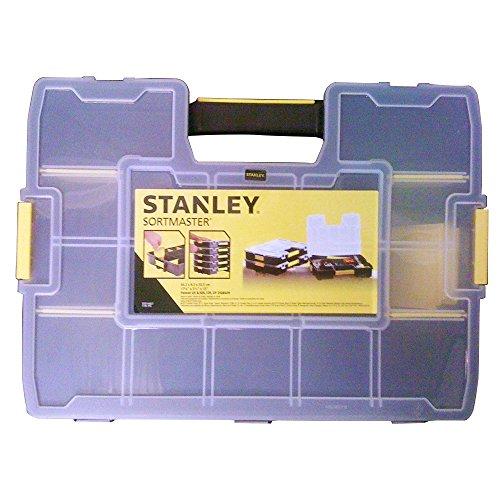 Preisvergleich Produktbild Stanley Organizer Sortmaster, Innenteiler anpassbar, 1024 Konfigurationen, kein Verrutschen, Deckel verrigelbar 1-94-745