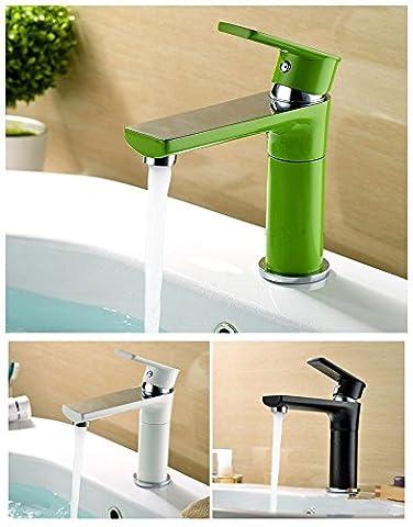 UHM 3 couleurs sur plan vasque en laiton orientable 360 Robinet d