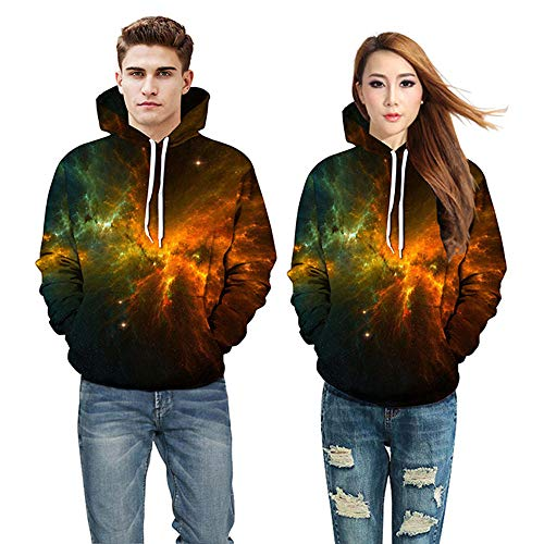 TWBB Damen Herren Paare Hoodies Slim Fit Afrikanisch 3D Digital Bedruckte Kapuzenpullover Langarm Fashion Graphic Mantel Outwear Sweatjacke