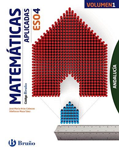 Código Bruño Matemáticas Aplicadas 4 ESO Andalucía3 volúmenes
