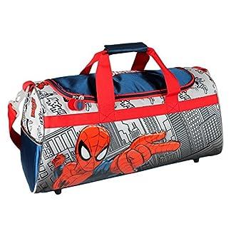 Artesanía Cerdá Spiderman Bolsa de Deporte Infantil, Color Rojo y Azul