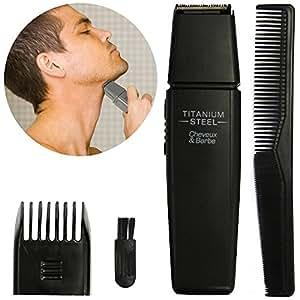 Promobo - Set Tondeuse Rasoir Electrique Et Peigne Pour Homme Pour Cheveux Et Barbe