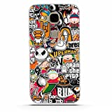 Huawei G8/GX8 Hülle, Huawei G7 Plus Hülle, Gift_Source [ Kleine Karikatur ] Schutz-Hülle Silikon TPU transparent ultra-slim Case Cover ultra-thin durchsichtig für Huawei GX8/G8/G7 Plus (5.5
