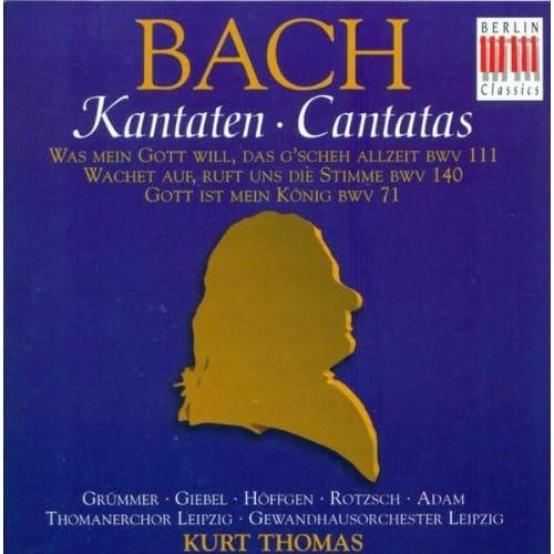 Wachet auf, ruft uns die Stimme, BWV 140: Recitative: So geh herein zu mir (Bass)