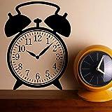 hllhpc Antiguo Reloj de Alarma de diseño de Vinilo Pegatina Reloj calcomanía Arte de la Pared