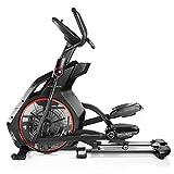 Bowflex- Vélo Elliptique BXE 226 semi profesionnel Noir/Rouge, Fitness Apps compatible Apple iOS et Android , inclinaison motorisée ,ventilateur et système audio MP3
