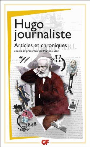 Hugo journaliste : Articles et chroniques
