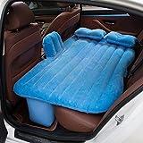 Car bed HUO Auto-Luft-Bett mit Kopfschutz Multifunktions Aufblasbare Matratze Outdoor Camping Angeln (Farbe : Blau)