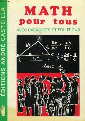 Math pour tous
