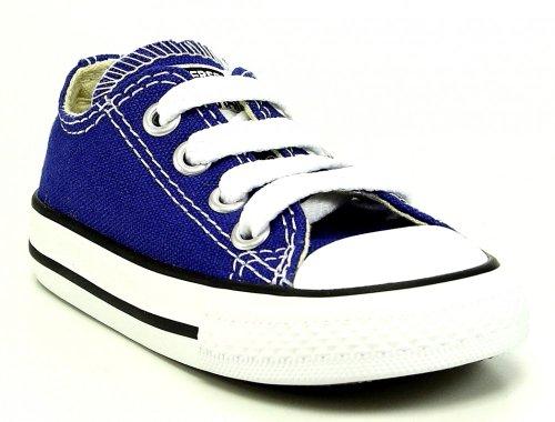 Converse–Chuck - Sneakers - Blanc - radio blue