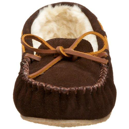 Minnetonka - 4010, Pantofole A Casa da donna Marrone (Chocolate)