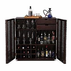 Altavista Tope Bar Cabinet (Mahogany Finish)