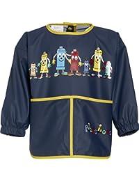 The Plan Bible Playshoes Boys Long Sleeve Painting Apron, Blue - Camiseta de Manga Larga